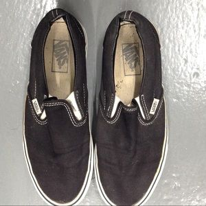 Vans Classic Black White Sneakers Tennis Shoes